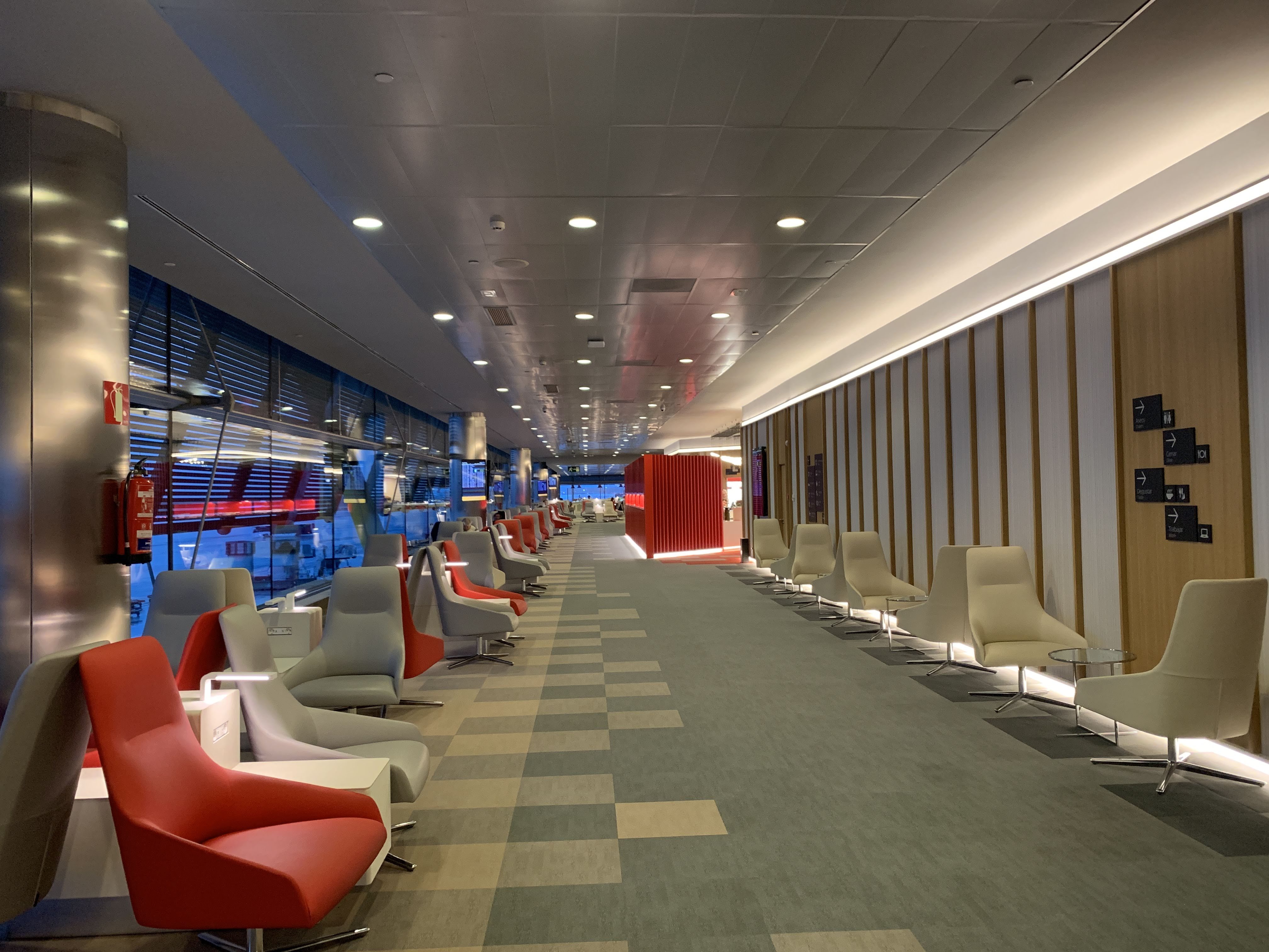 Iberia Madrid lounge