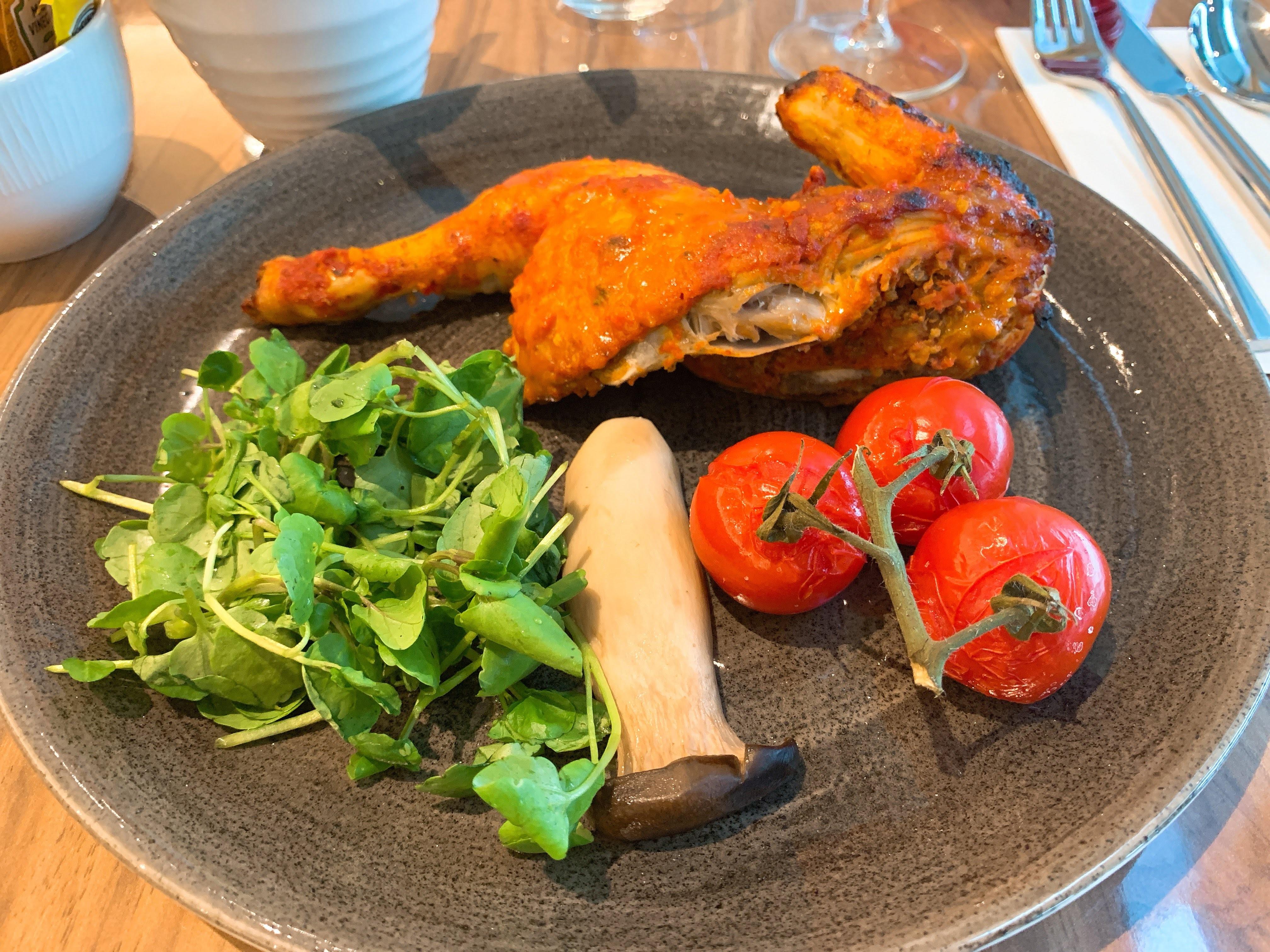 Hilton Garden Inn T2 Heathrow apron restaurant food