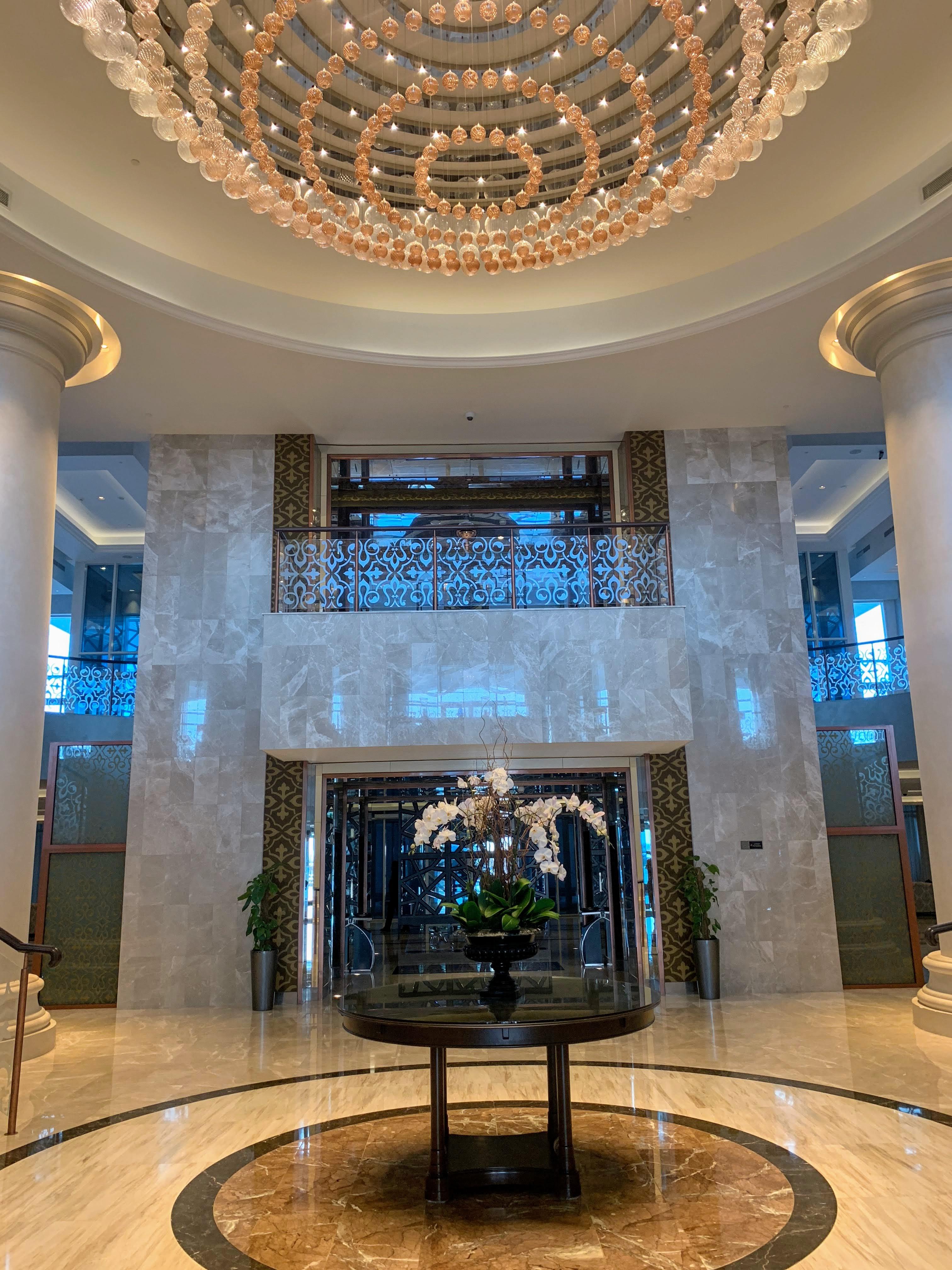Waldorf the Palm lobby