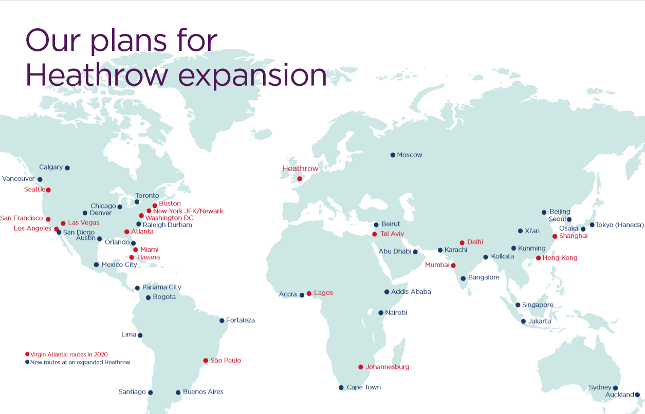 News: Virgin Atlantic - grand plans for new routes, second ...