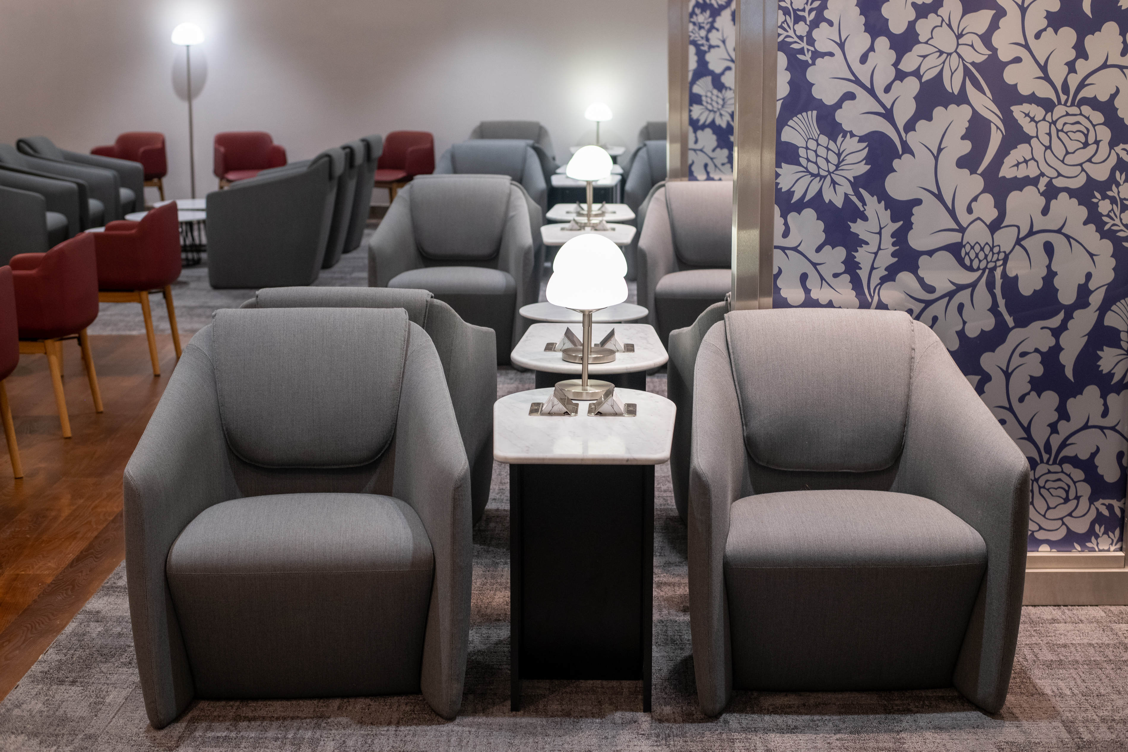 Linate BA lounge