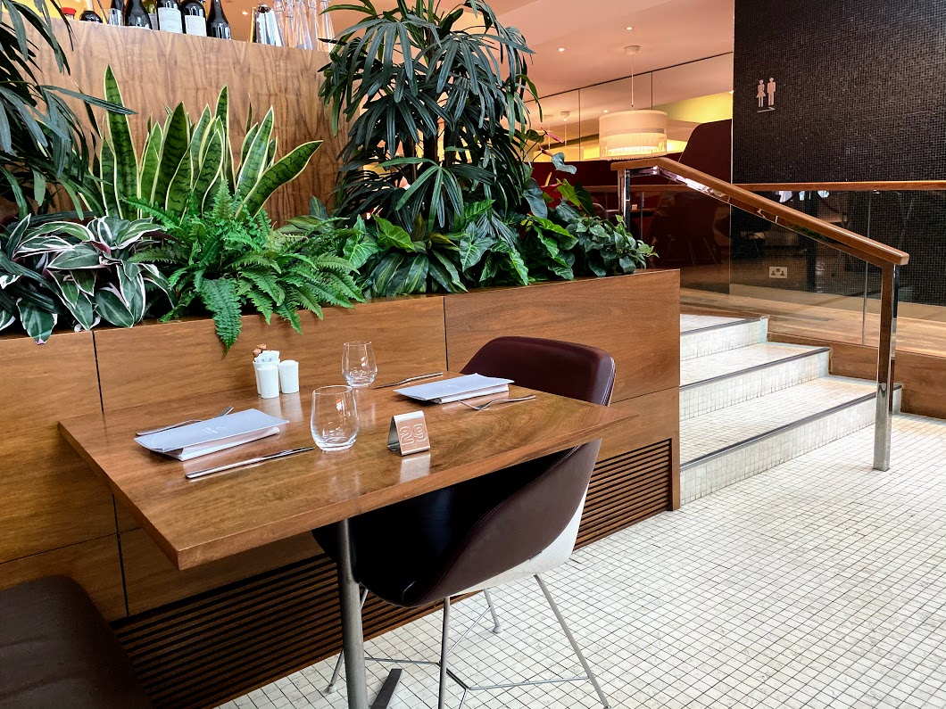 Virgin Clubhouse dining area T3