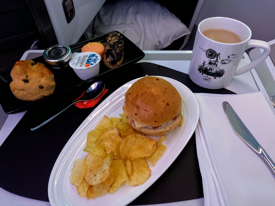 Afternoon tea by Eric Lanlard Virgin A350