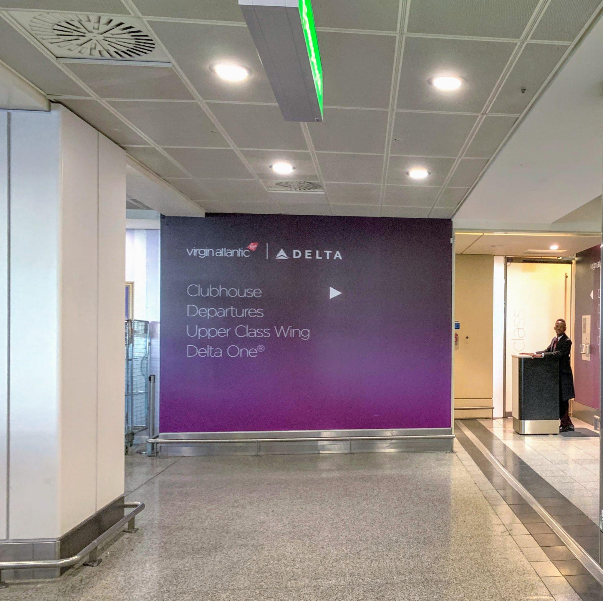 Virgin Heathrow T3 premium security