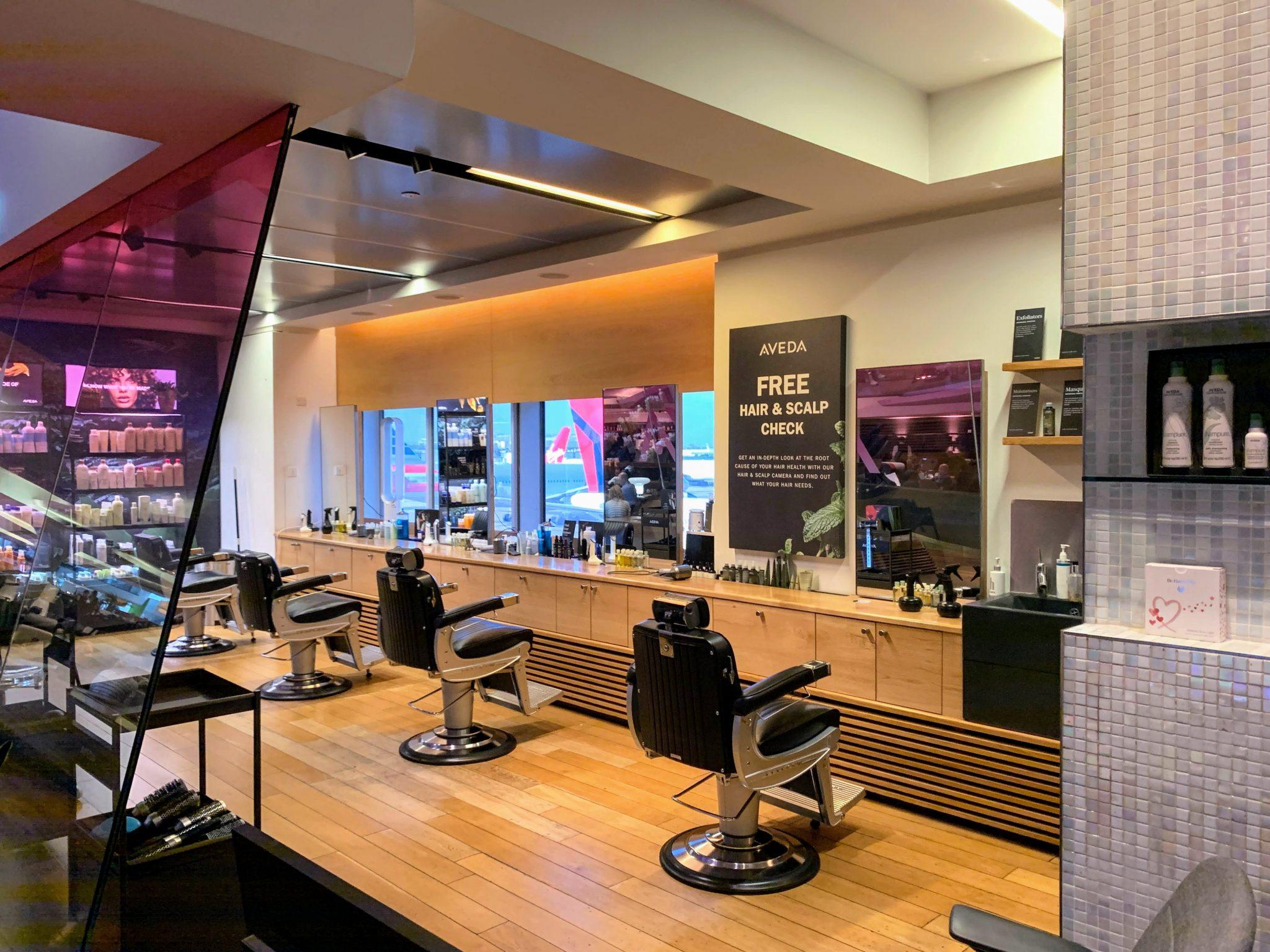 VIrgin Hair salon clubhouse T3