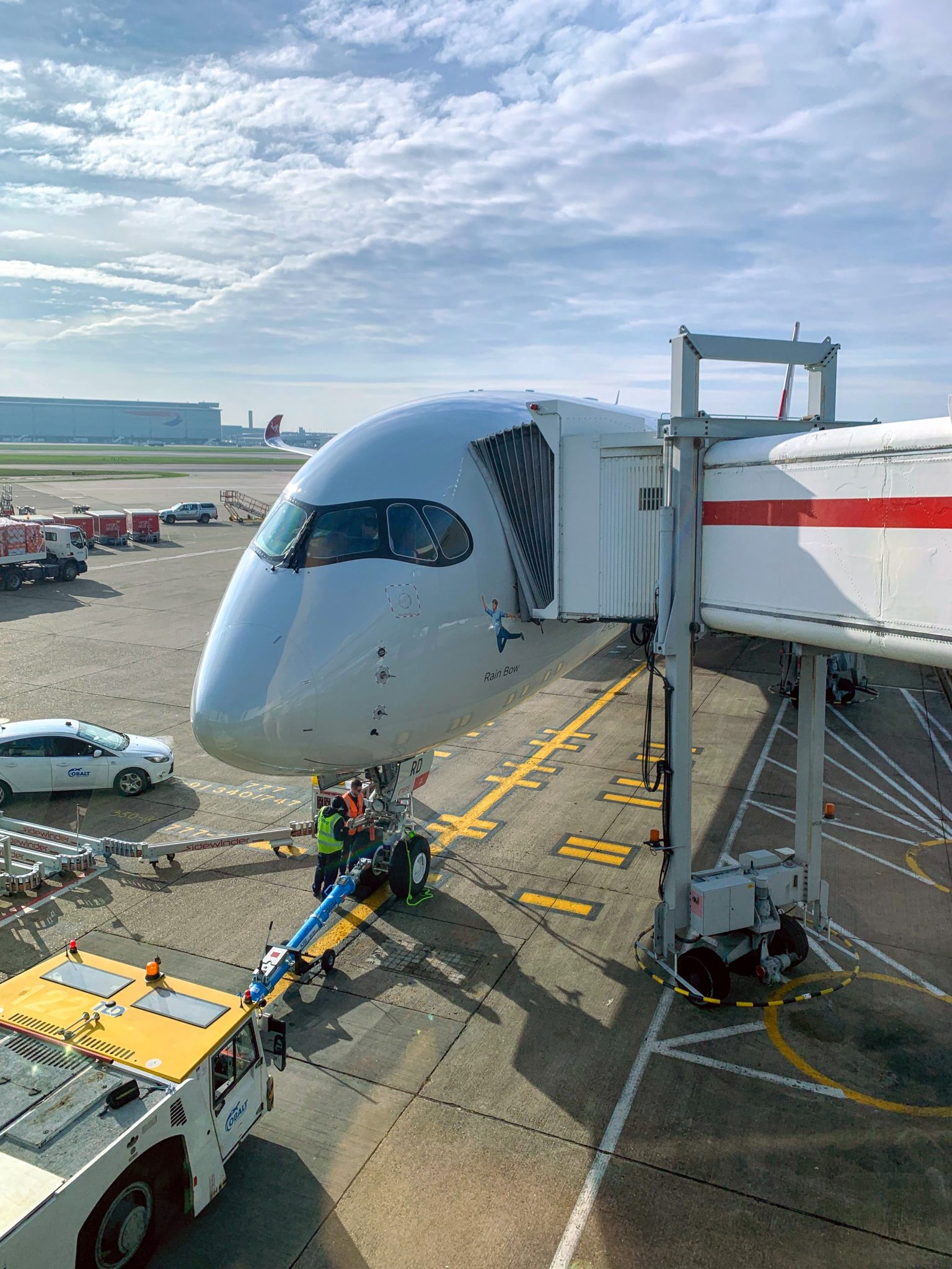 Virgin A350 heathrow