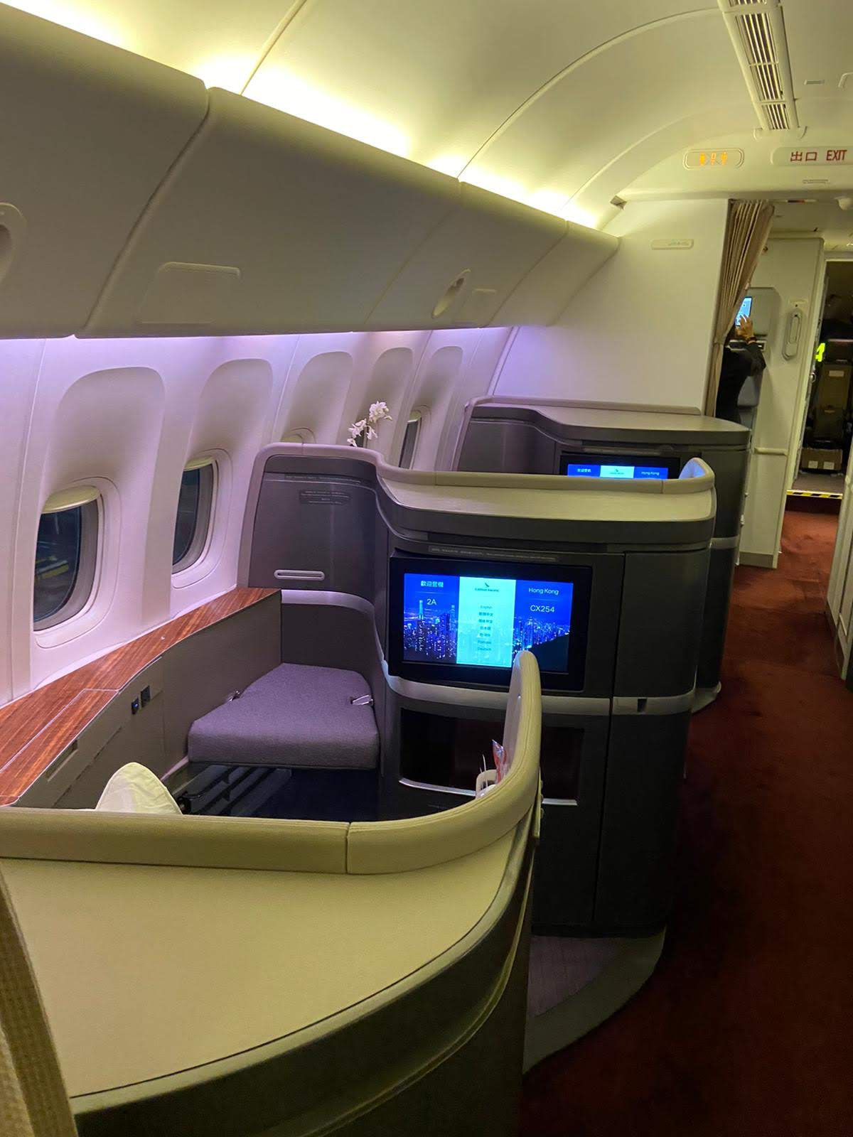 Cathay First cabin
