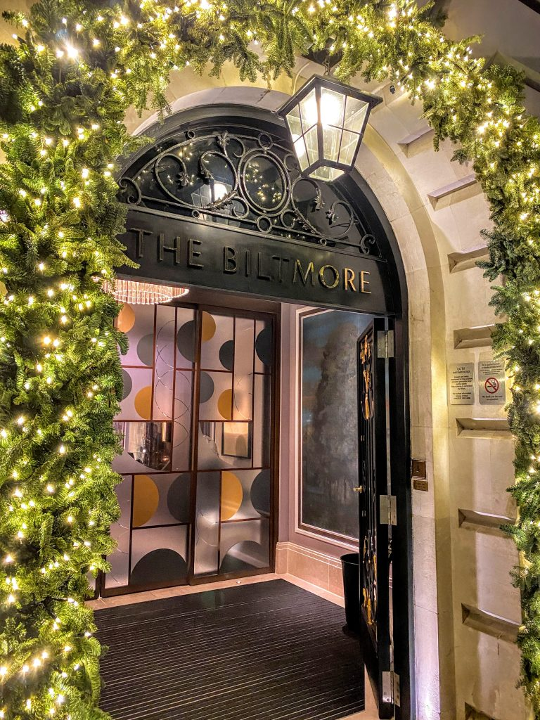 The Biltmore Mayfair London Grosvenor Square entrance
