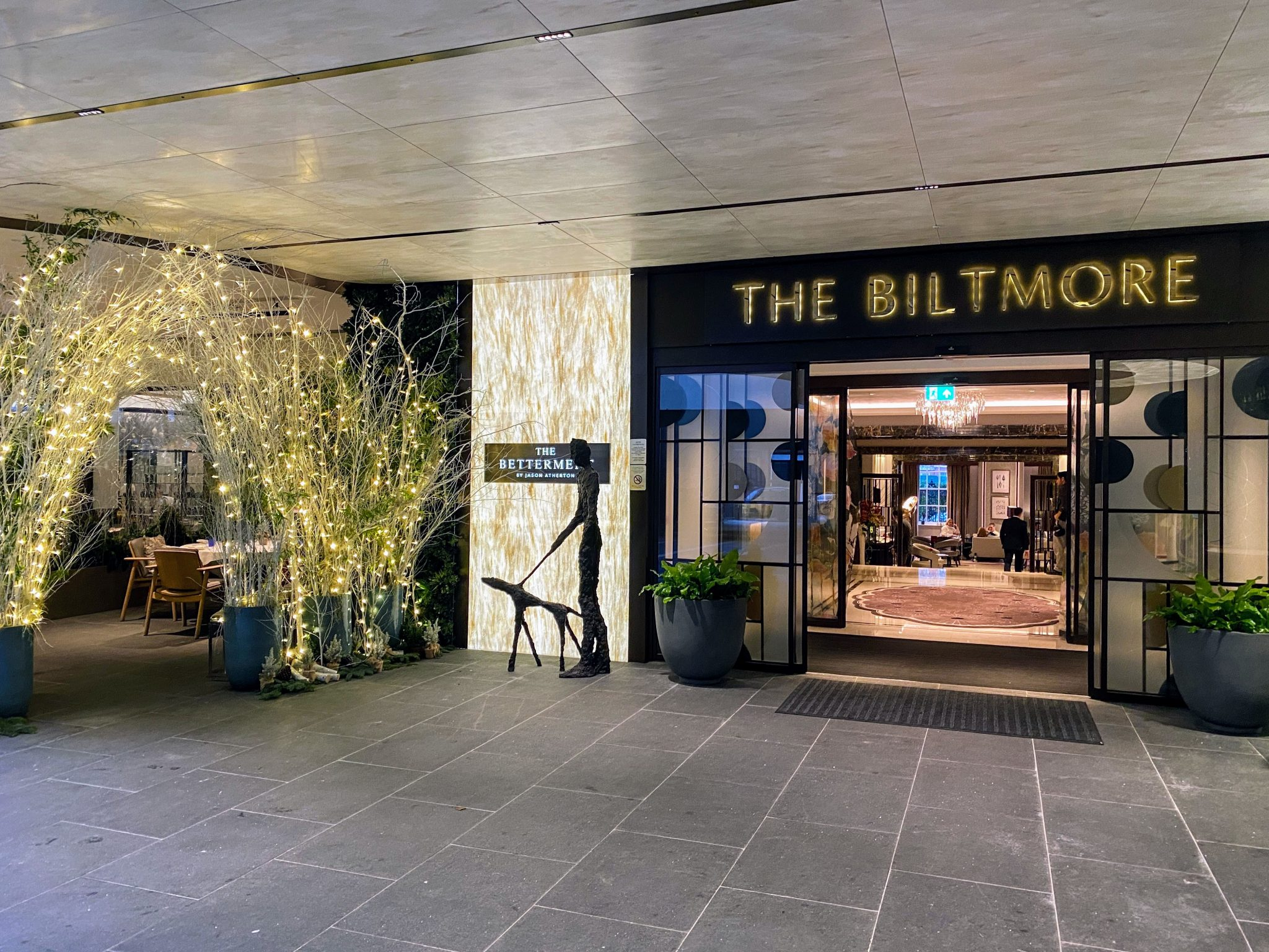 The Biltmore Mayfair London main entrance