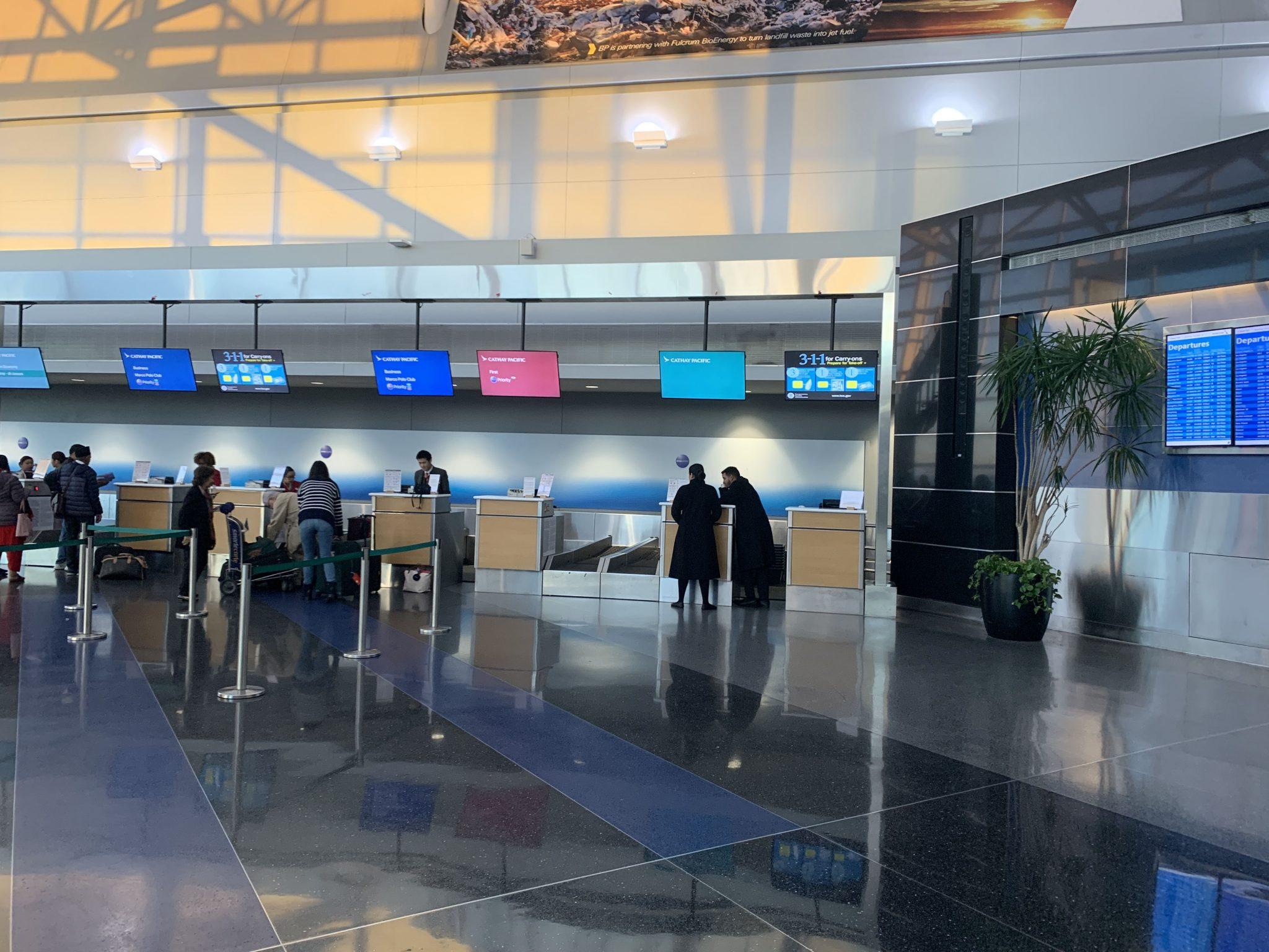 Cathay check in JFK