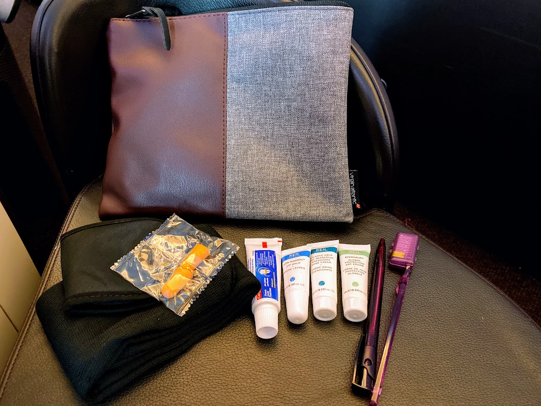VS amenity kit A330
