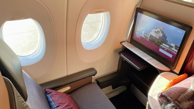 Qatar A350-1000 Q Suites review