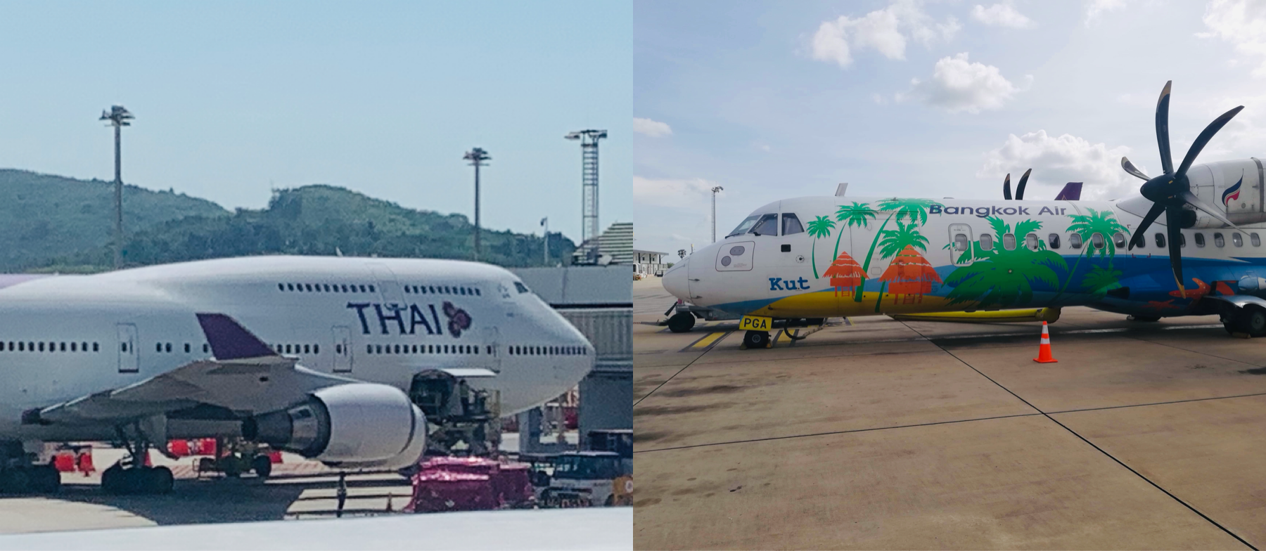 747 and the _party plane_ to Siem Reap