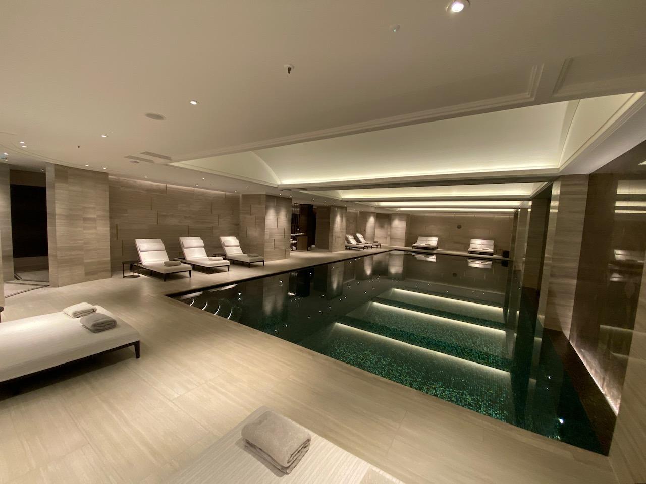 The Langley indoor pool