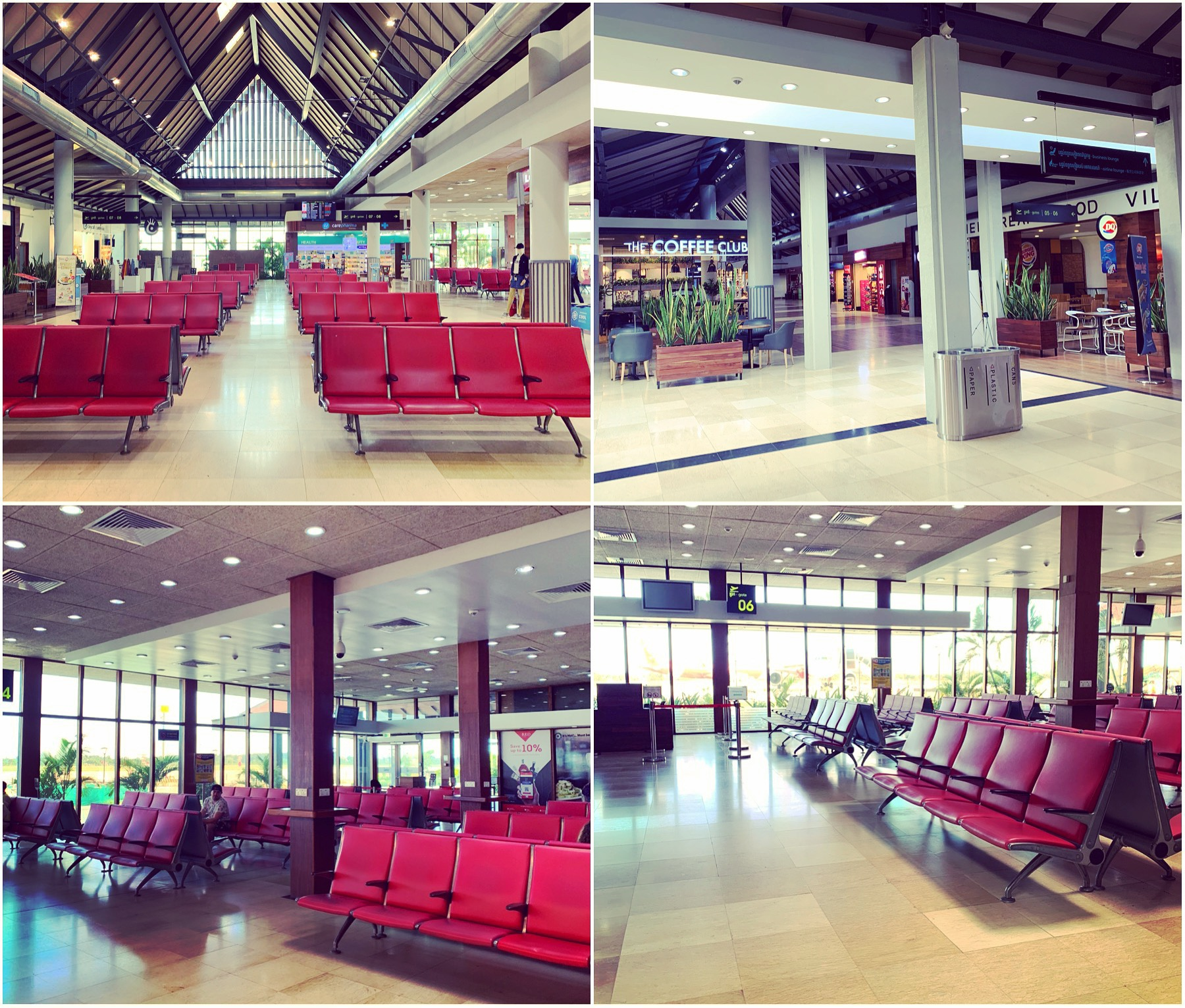 Siem Reap Airport - If only every airport was this quiet
