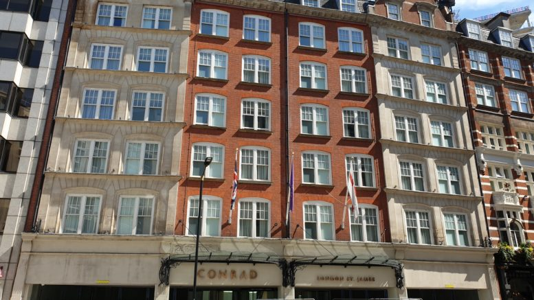 Conrad St James London exterior