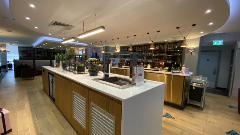 Club Aspire Gatwick - British Airways lounge