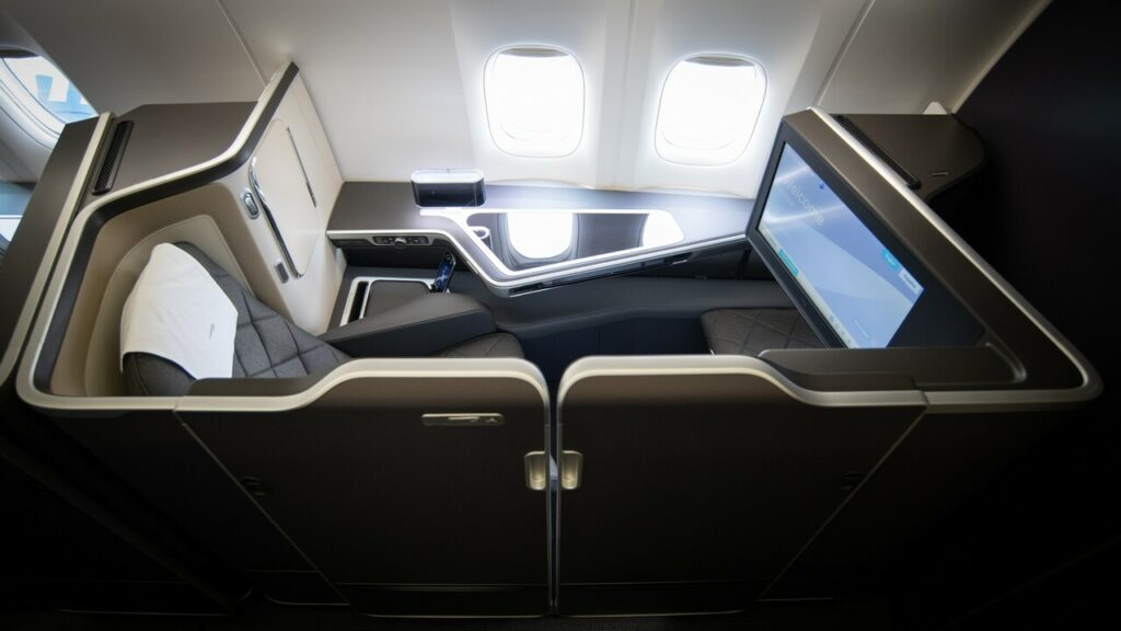 New BA B777 First Suite with doors