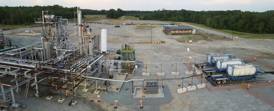 Freedom Pines Fuels facility in Georgia, USA,