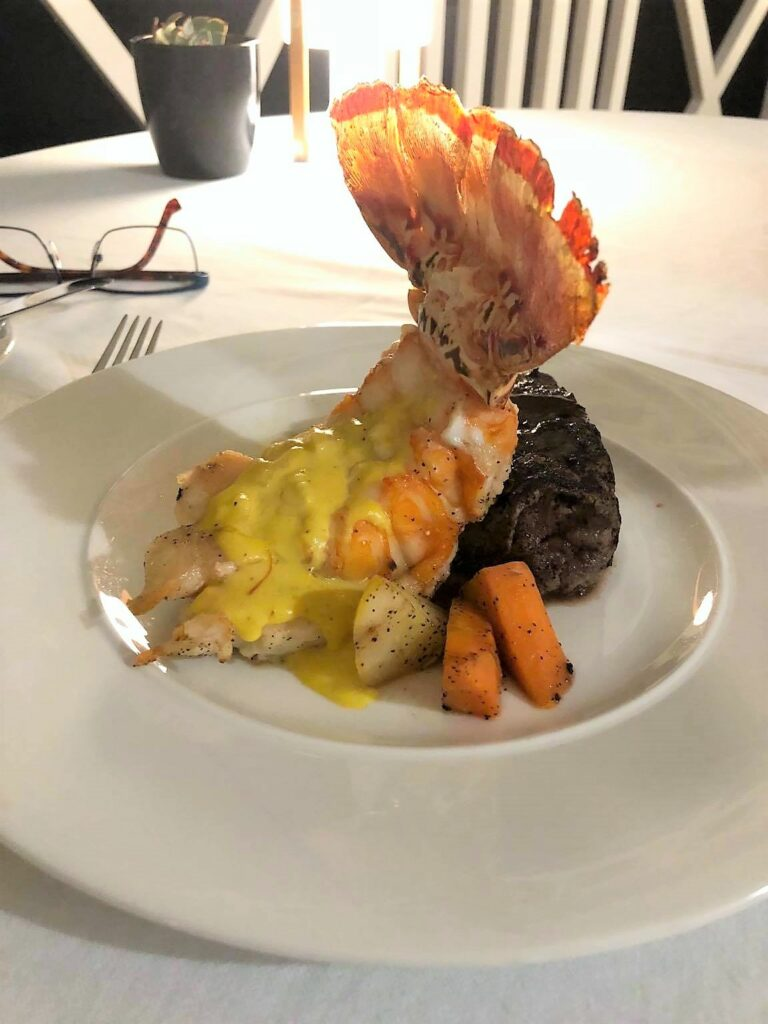 Execllence Jamaica surf and turf