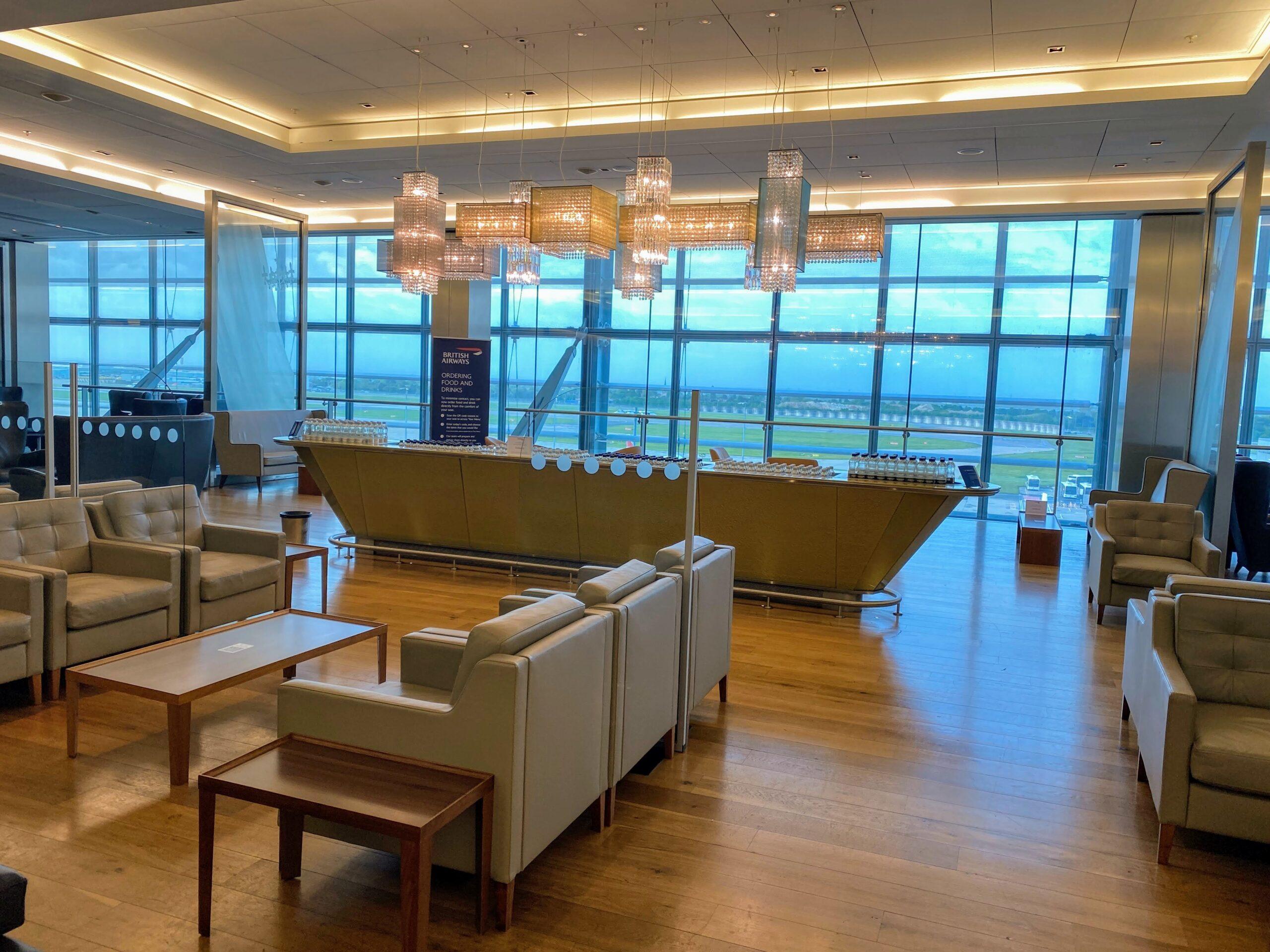 BA First lounge heathrow may 21