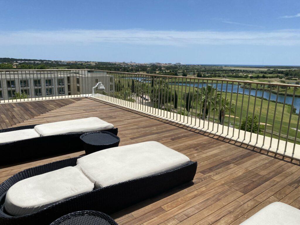 Anantara Vilamoura Algrave spa terrace