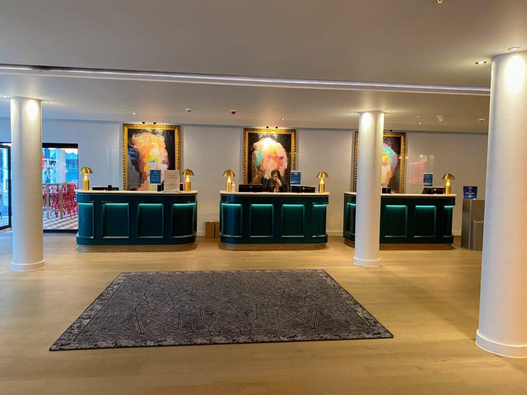 The Westminster Curio reception