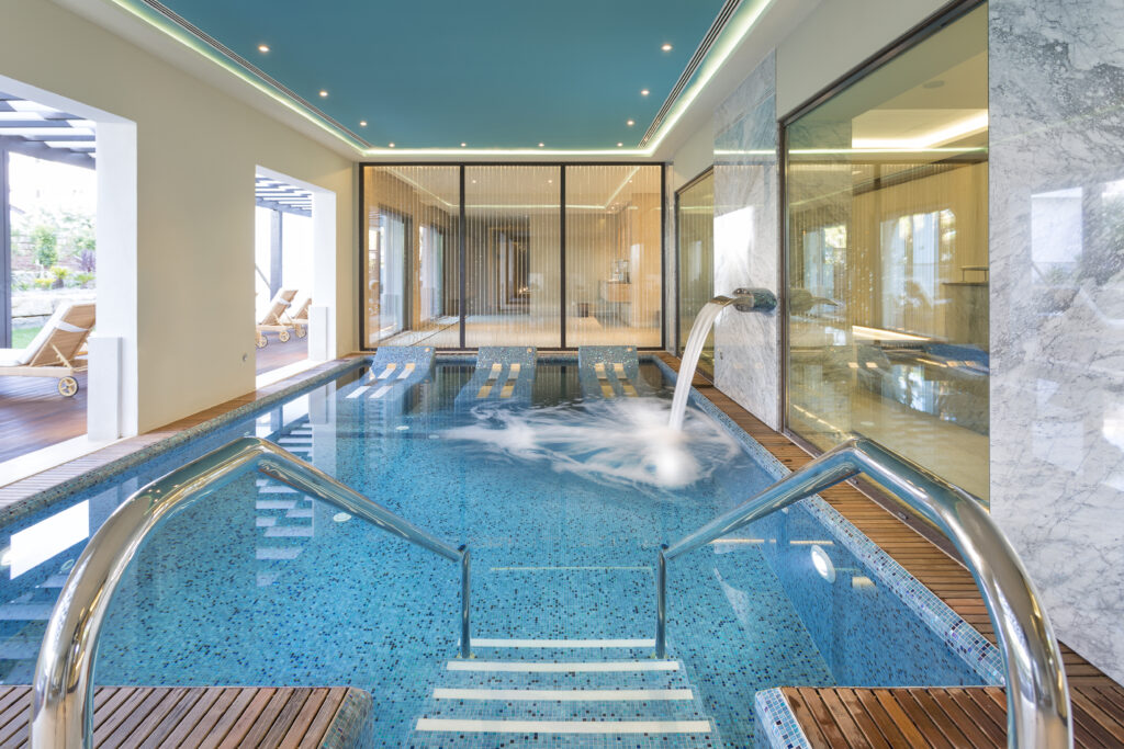The Pines Serenity Spa hydrotherapy pool