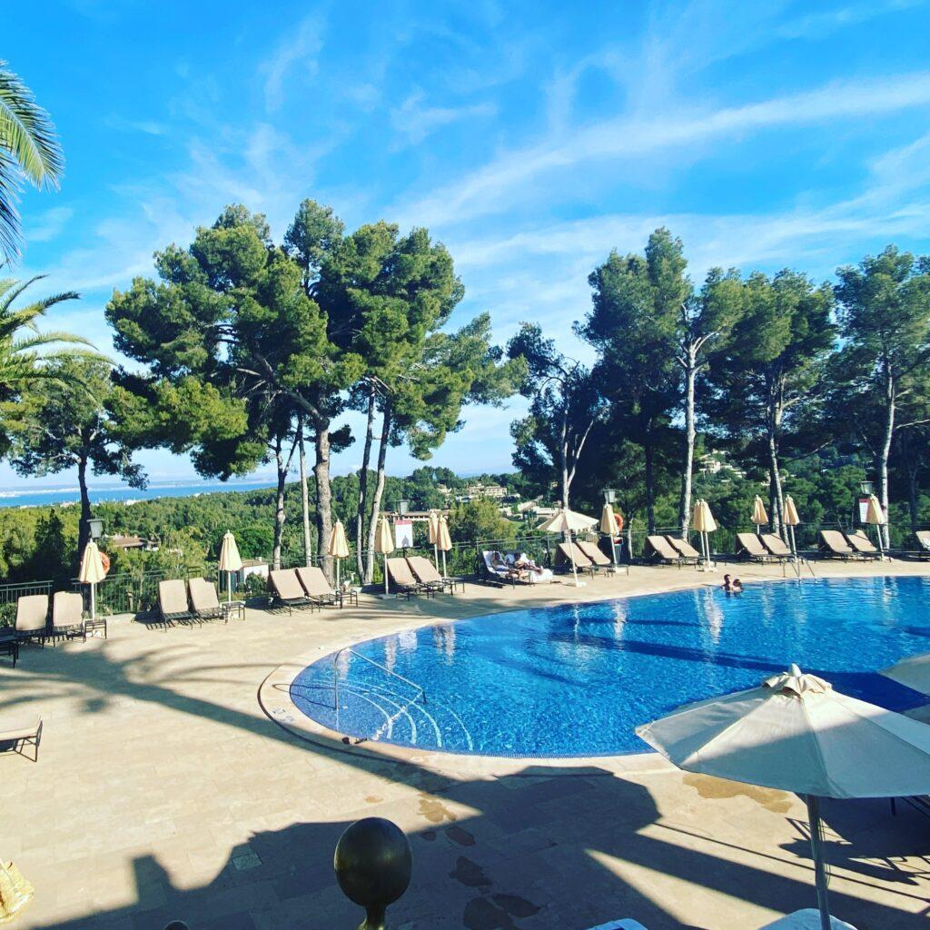 Main pool at Castillo Son Vida