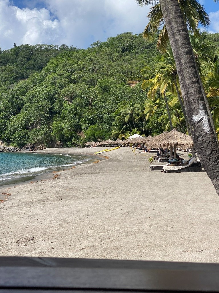 Beach at Anse Chastanet